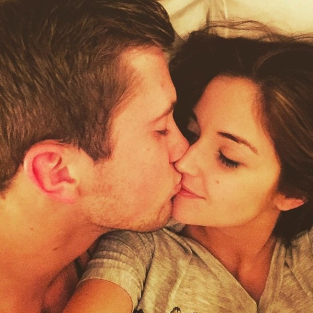 Jacqueline Jossa proves she is still very much together with TOWIE's Dan Osborne in kissing selfie, 28 December 2014