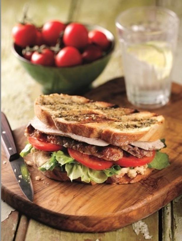 toasted turkey sandwich hellmans'