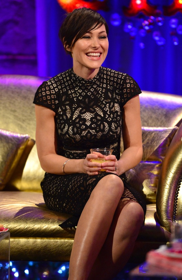 Emma Willis on Chatty Man Christmas Day Special show - 25 December.