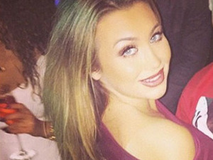 Lauren Goodger shares photo of herself in Vegas on New Year's Eve, 31 January 2014