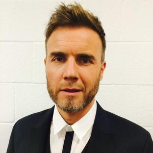 Gary Barlow photographed by bandmate Mark Owen, December 2014