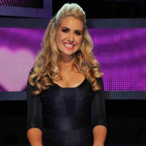TOWIE's James Argent's sister Natasha takes part in Take Me Out, 3 January 2015