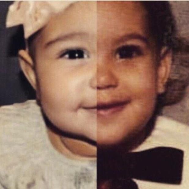 Kim Kardashian compares similarities with daughter North West, 2 January 2015