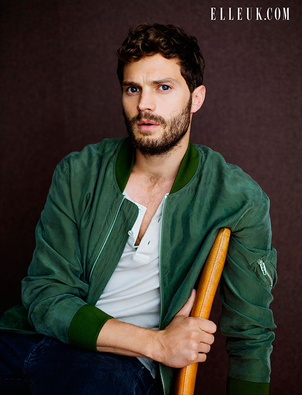 Jamie Dornan in ELLE UK. Full interview appears in the February issue of ELLE UK, on sale 2nd January. Also available as a digital edition.