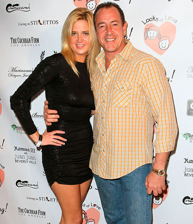 Michael Lohan and Kate Major, Charitable event to benefit 'Locks of Love' held at Skybar at Mondrian West Hollywood, California - 06.10.10