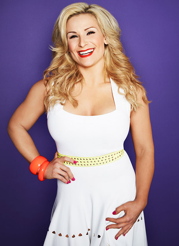 Natalya of WWE Total Divas.