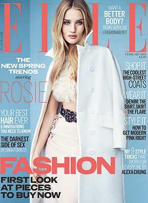 February issue of ELLE UK, on sale 2nd January. Also available as a digital edition.