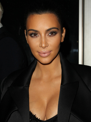 Kim Kardashian West at the The Clara Lionel Foundation Diamond Ball in Los Angeles, America - 12 December 2014
