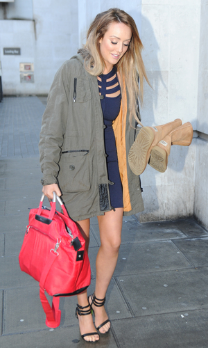 Charlotte Crosby promotes fitness DVD in London 8 January
