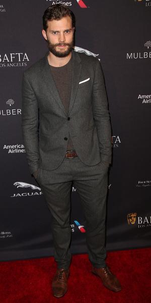 Jamie Dornan attends BAFTA Los Angeles Tea Party held at The Four Seasons Hotel, 11 January 2015