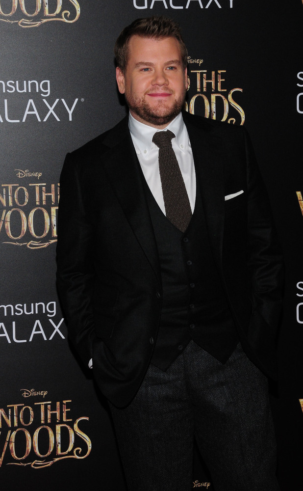 James Corden at the New York premiere of 'Into The Woods' held at the Ziegfeld Theater 09/12/14