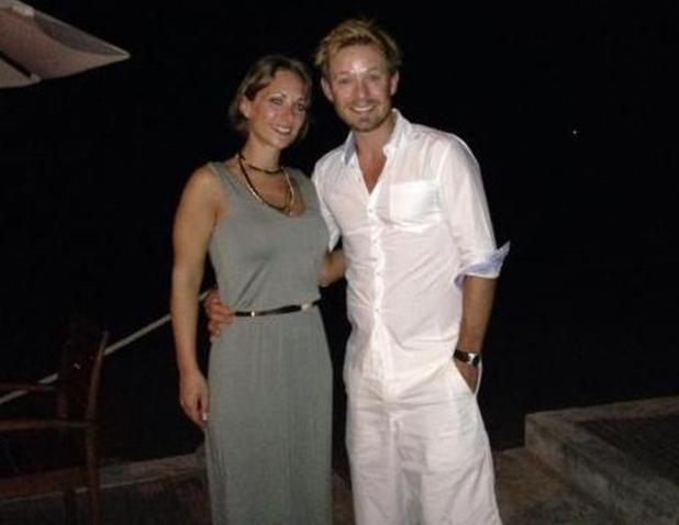 Adam Rickitt and Katy Fawcett on honeymoon in Thailand - 5 January 2014
