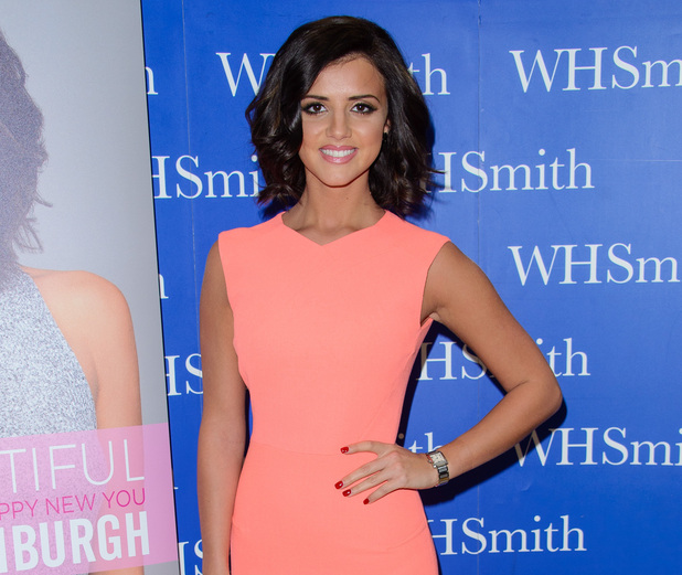 Lucy Mecklenburgh signs copies of her book, Be Body Beautiful, at Lakeside Shopping Centre - 8 January 2015