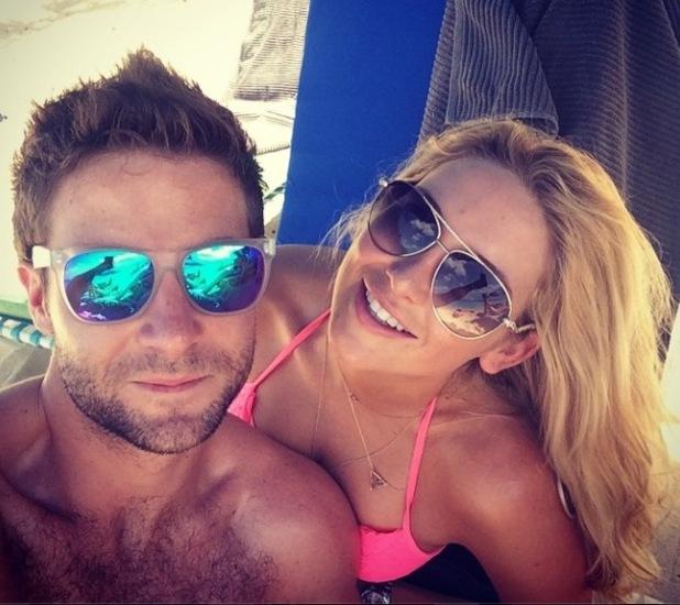 Made In Chelsea's Stephanie Pratt and Josh Shepherd enjoy holiday in Barbados - 31 December 2014.