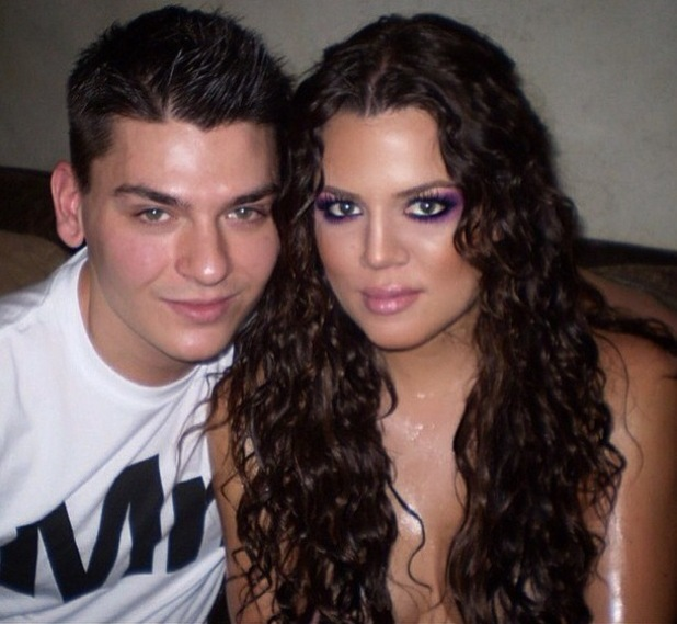 Make-up artist Mario Dedivanovic posts a throwback photo with Khloe Kardashian - 8 January 2015