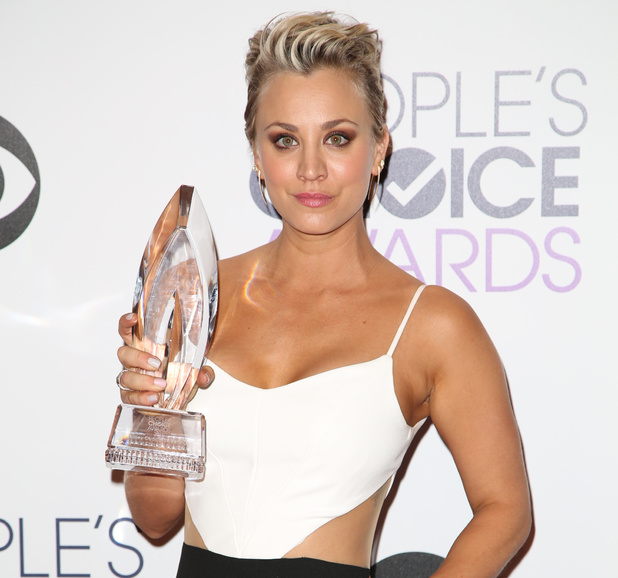 Kaley Cuoco-Sweeting attends the People's Choice Awards 2015 in Los Angeles, America - 7 January 2015