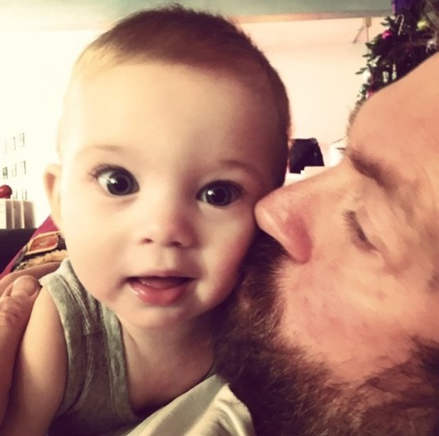 Jessica-Jane Stafford/ Clement shares new picture of baby son and husband Lee - 8 Jan 2015
