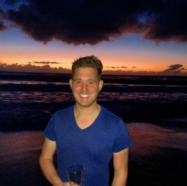 Michael Bublé shares holiday pictures - 7 Jan 2015
