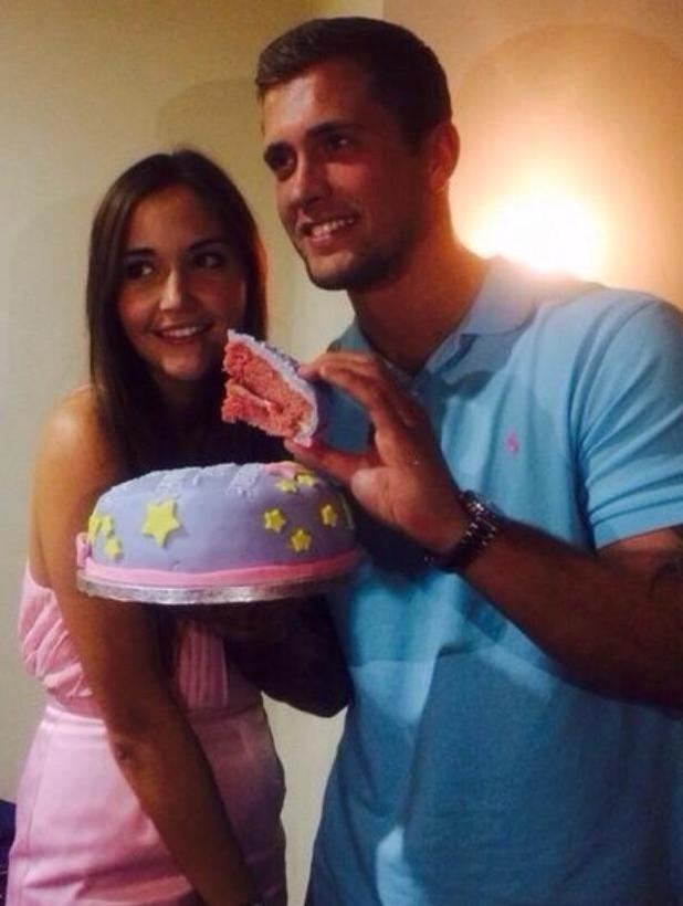 TOWIE's Dan Osborne reveals he and pregnant girlfriend Jacqueline Jossa are expecting a baby girl, 9 January 2015
