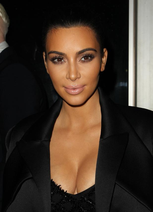 Kim Kardashian West at the The Clara Lionel Foundation Diamond Ball in Los Angeles, America - 12 December 2014