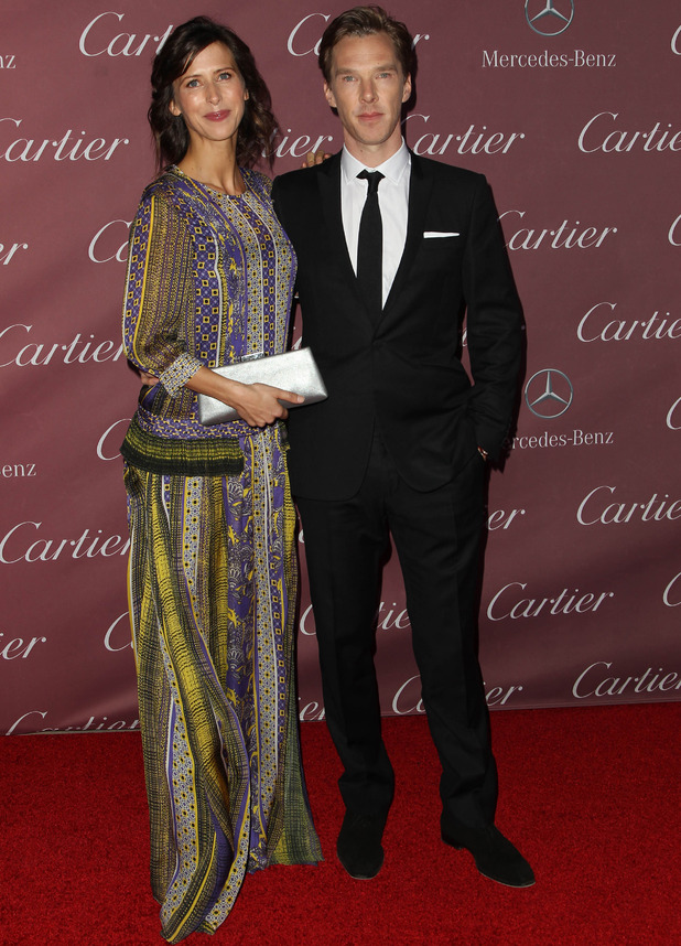Sophie Hunter and Benedict Cumberbatch at 6th Annual Palm Springs International Film Festival Awards Gala presented by Cartier - 3 Jan 2015
