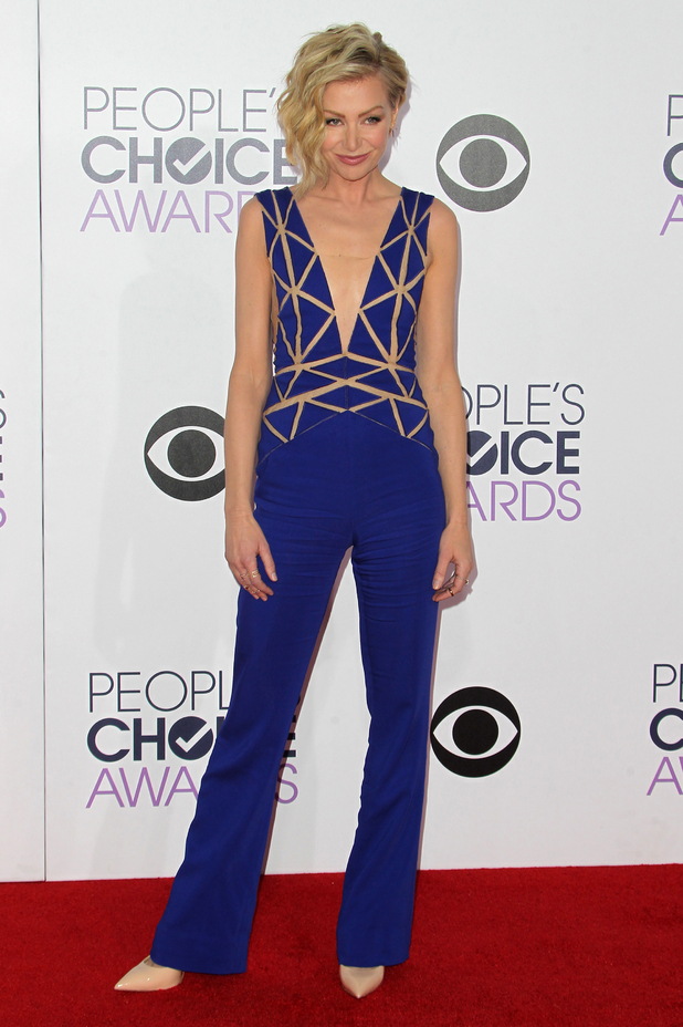 Portia de Rossi attends the People's Choice Awards 2015 in Los Angeles, America - 7 January 2015