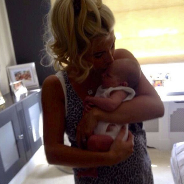 Billie Faiers marks baby Nelly's six-month milestone, 8 January 2015