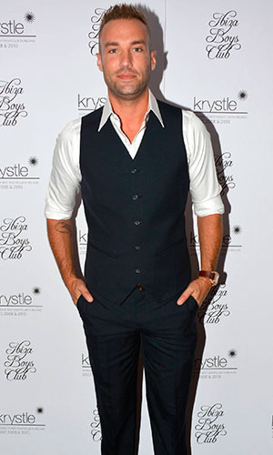 Calum Best launches his 'Ibiza Boys Club' clothing label at Krystle nightclub, 2013