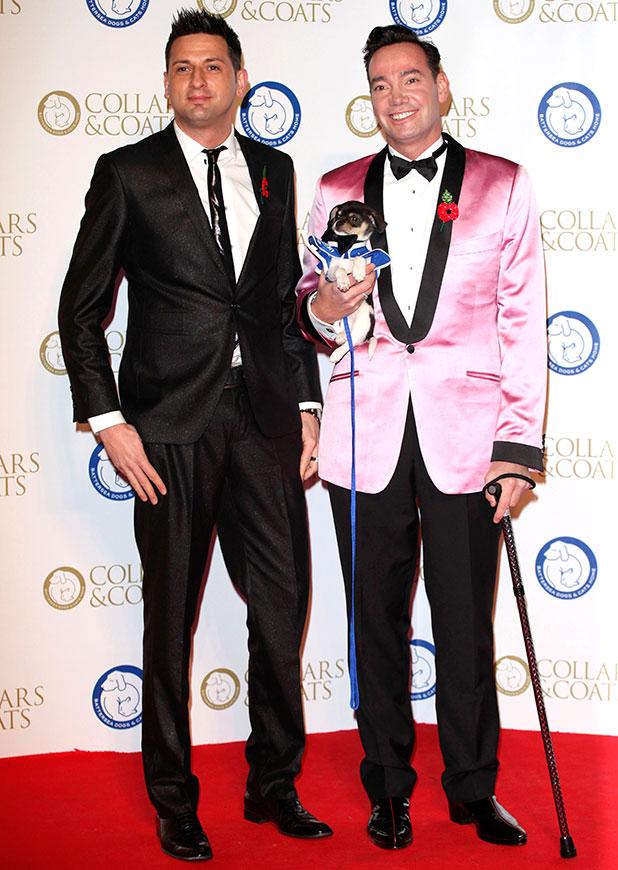 Craig Revel Horwood and Damon Scott, Collars & Coats Gala Ball 2013 held at Battersea Evolution - Arrivals, 2014