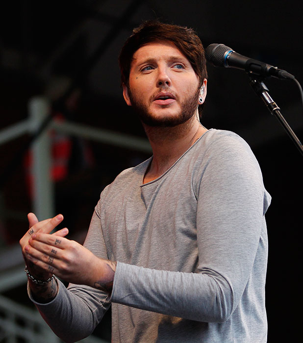 James Arthur performs at 'Summer Saturday Live' at Newmarket Racecourse, 2014