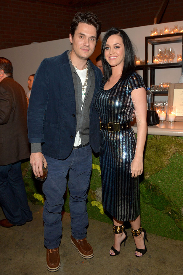 John Mayer and Katy Perry attend Hollywood Stands Up To Cancer Event on Tuesday, January 28, 2014 in Culver City, California.