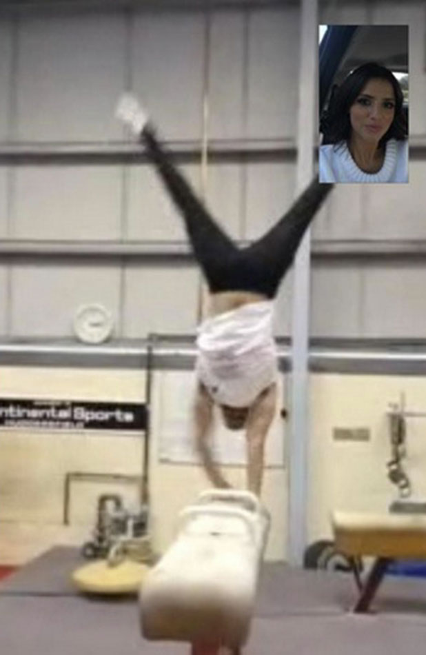 Lucy Mecklenburgh's FaceTime with Louis Smith, 6 January 2015