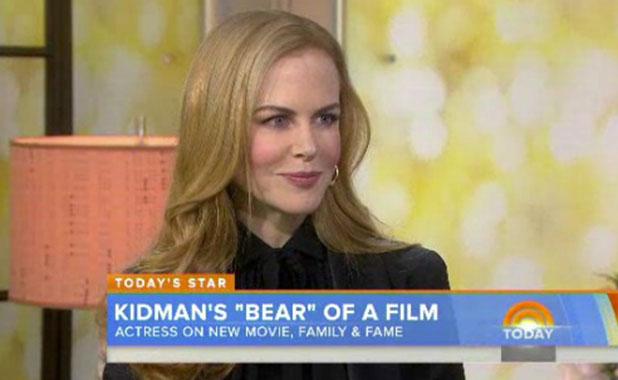 Nicole Kidman appears on The Today Show, 6 January 2015