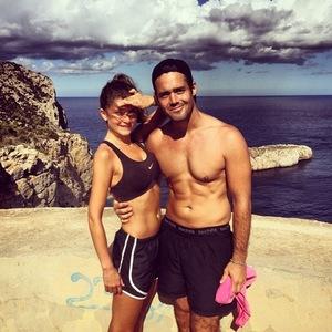 Lauren Frazer Hutton and Spencer Matthews hit bootcamp in Ibiza 14 January