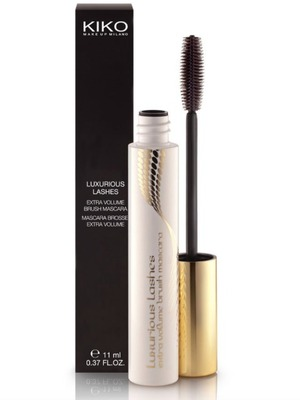 KIKO Cosmetics Luxurious Lashes Extra Volume Brush Mascara