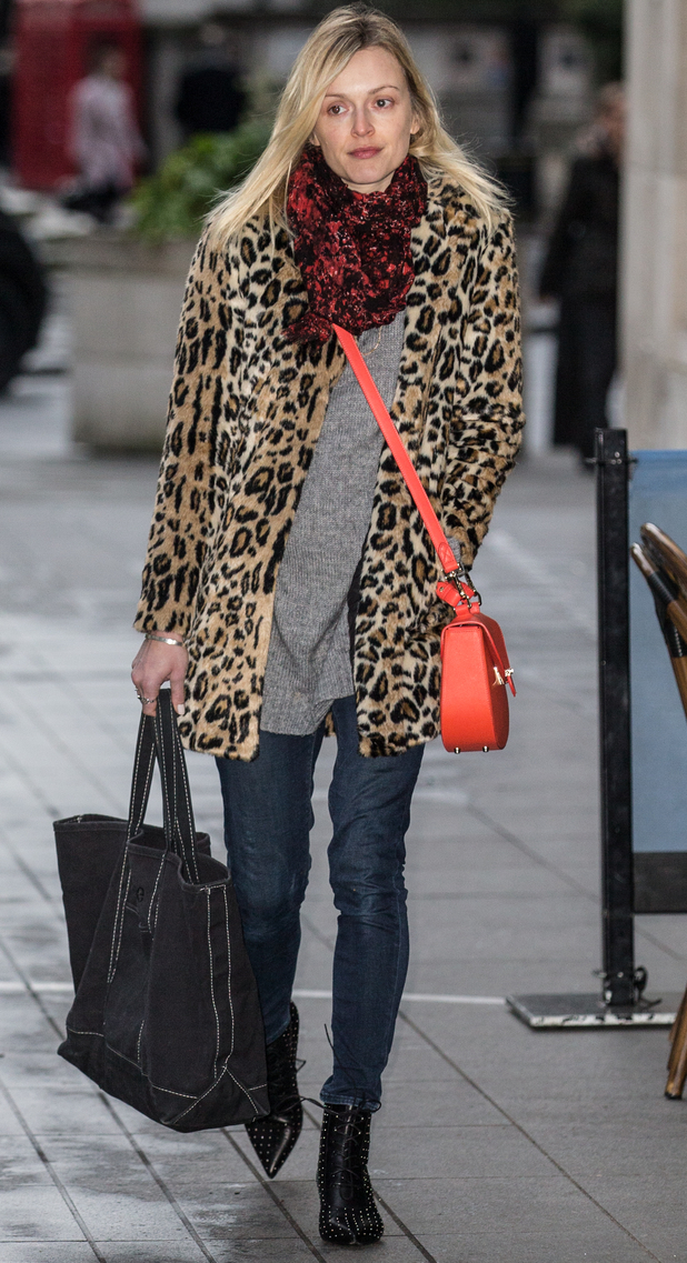 Fearne Cotton at Radio 1, 12/1/15