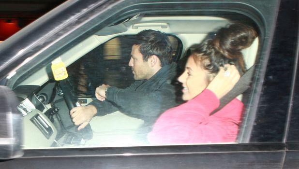 Michelle Keegan and Mark Wright in Birmingham, 17 January 2015