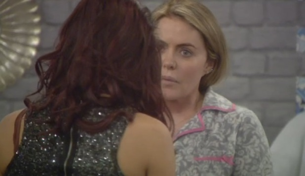 CBB: Chloe Goodman tells Patsy Kensit she's upset Patsy chose Perez over her, 13 January 2015