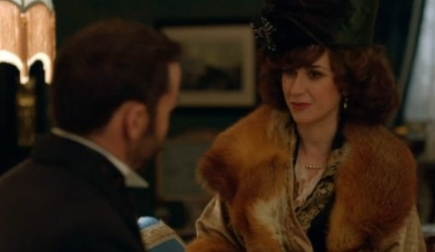 Katherine Kelly as Lady Mae Loxley on ITV's Mr Selfridge - 15/1/2015.