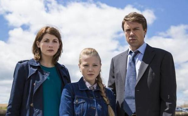 Charlotte Beaumont on 'Broadchurch' series two - 2015.