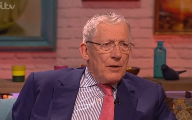 The Apprentice star Nick Hewer talks about departure on Mel and Sue - 15/1/2015.