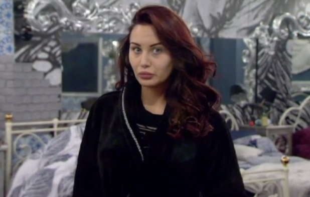 Chloe Goodman in the bedroo - Celebrity Big Brother - 13/1/2015.