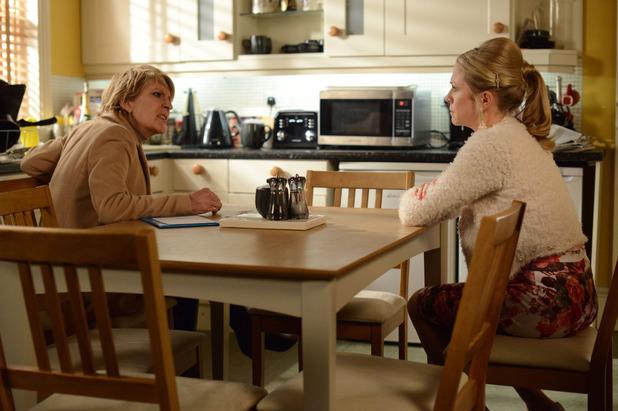 EastEnders, Linda tells Shirley everything, Mon 19 Jan