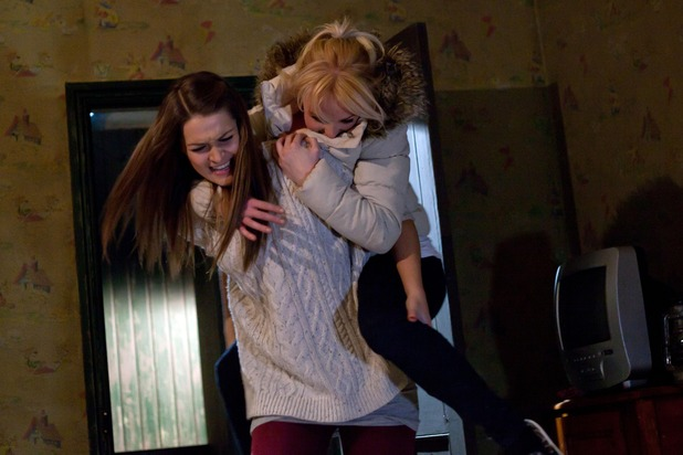 Hollyoaks, Theresa takes on Sienna, Wed 14 Jan