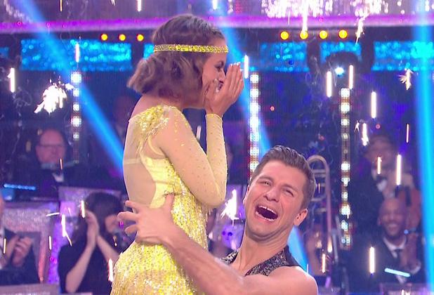 The moment Caroline Flack won Strictly Come Dancing - 20 December 2014.