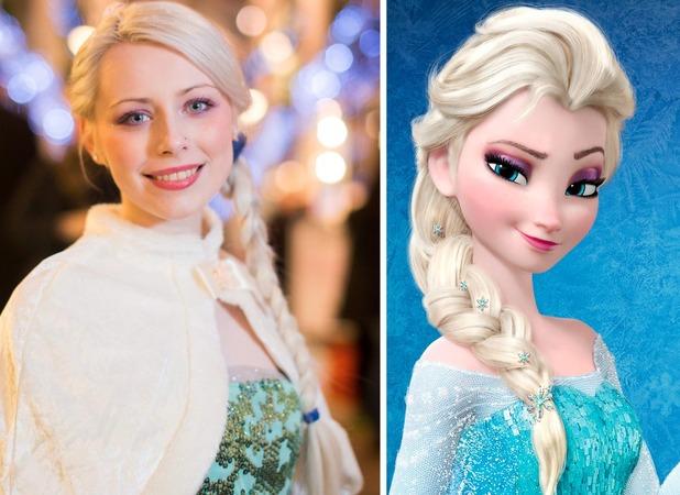 Alexandra Jenkins, From shop assistant to Frozen princess
