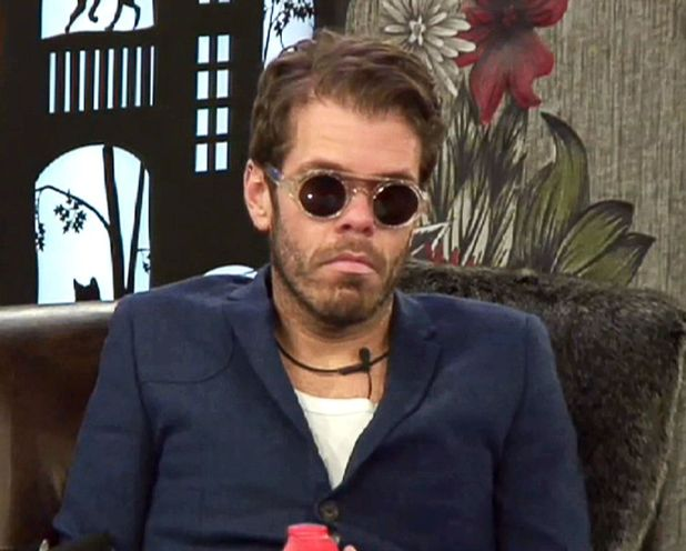 Perez Hilton reacts after hearing the news that Alexander has left the house 18 Jan 2015