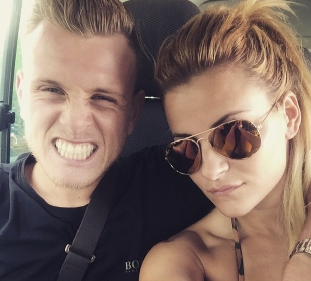 Georgia Kousoulou and boyfriend Tommy Mallet on holiday in Thailand 11 January