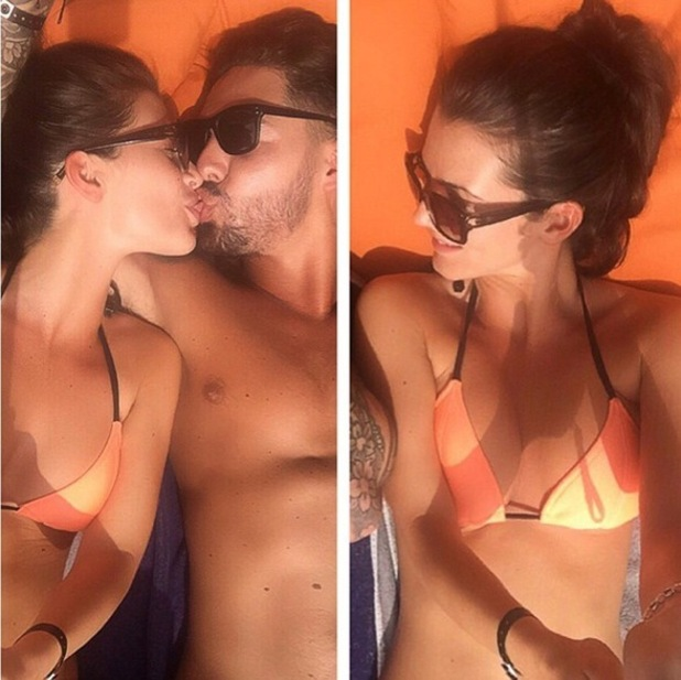 Mario Falcone and Emma Jane McVey on holiday together 12 January