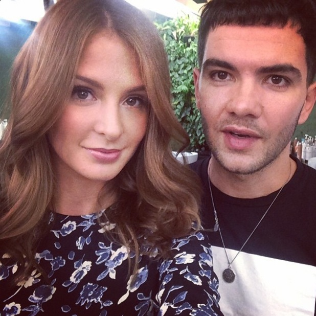 Millie Mackintosh shows off her new hair in an Instagram picture - 14 January 2015